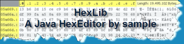HexLib - A Java component by sample
